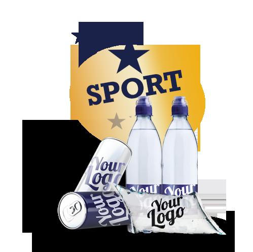 Vand til sport - Logovand til løbeturen eller friluftsliv