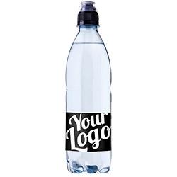 Aqua d'Or labelvand vandflaske med eget logo og kildevand private label