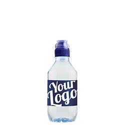Labelvand vandflaske med Aqua d'Or  logo vand med private label