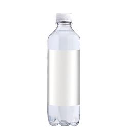 Aqua d'Or logovand vandflaske med eget logo og kildevand som private label