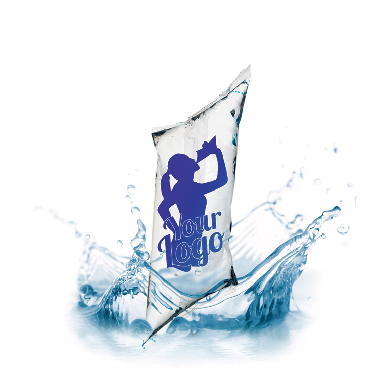 VANDT posevand med logo - Reklamevand med eget logo til sport og friluftsliv